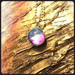 Jewelry - Galaxy NASA Nebula Planetary Pendent with chain